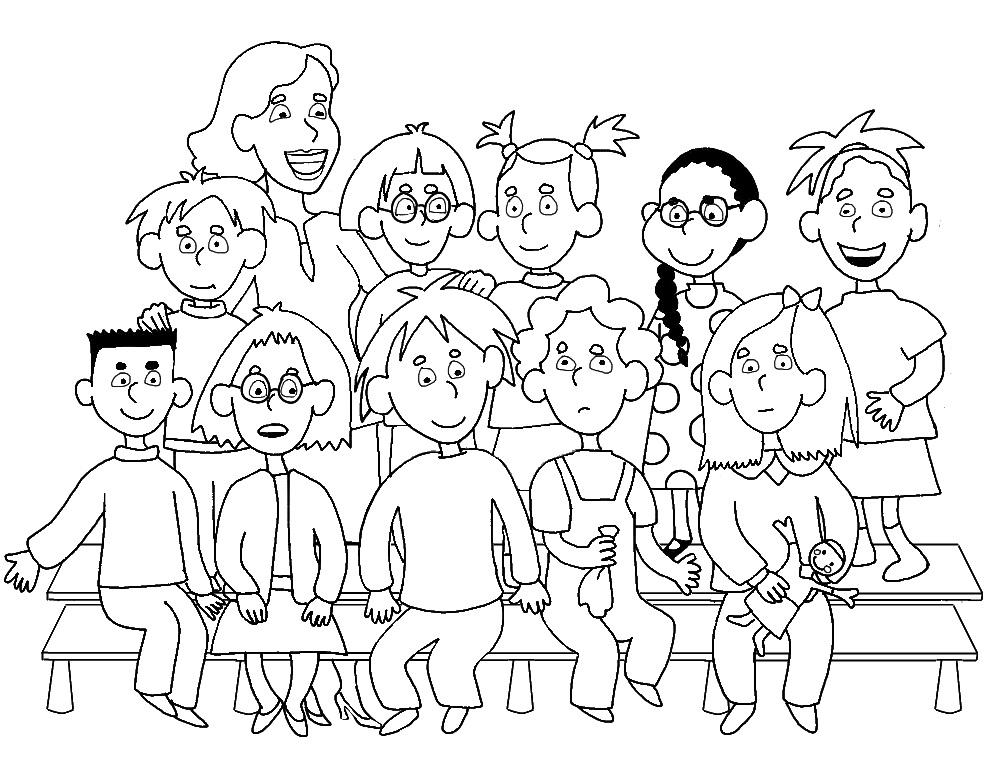 Coloriage Fete De Lecole.Ecole Maternelle Publique Saint Pierre Lamothe Vendome